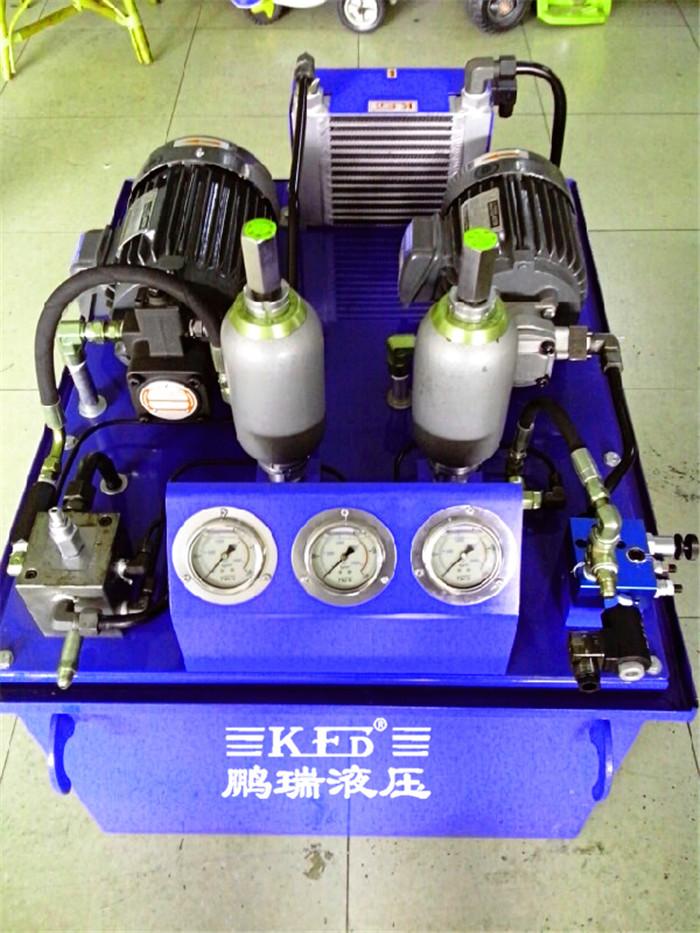 液压站电机接线图220v