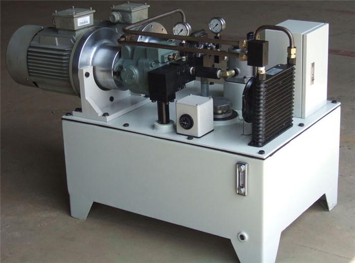 数控机床液压站图片