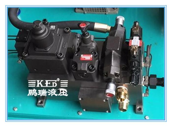 液压腔油路供给设计