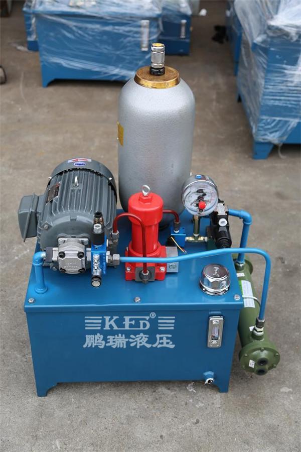 【鹏瑞分享】升降平台液压系统可行的两种方案