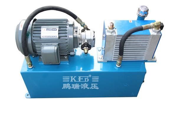 【液压系统】为什么都选择鹏瑞铝型材机械牵引机液压站?