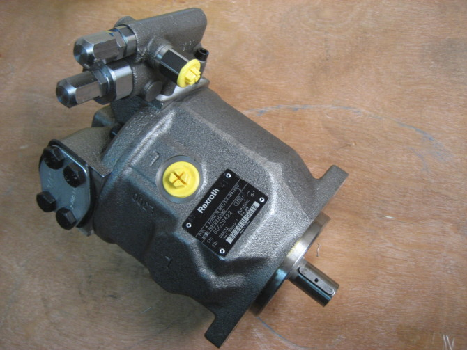 【液压泵】伺服变量机构或压力补偿机构失灵,泵不能变量
