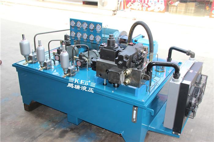 【液压系统】水平式压力机液压系统