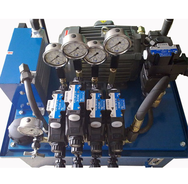 汽车压入机液压系统