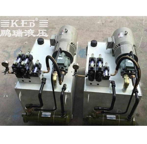汽车立式装芯机液压系统