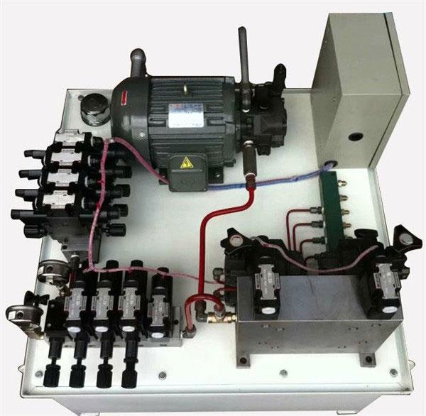 5.5KW包装机械液压系统
