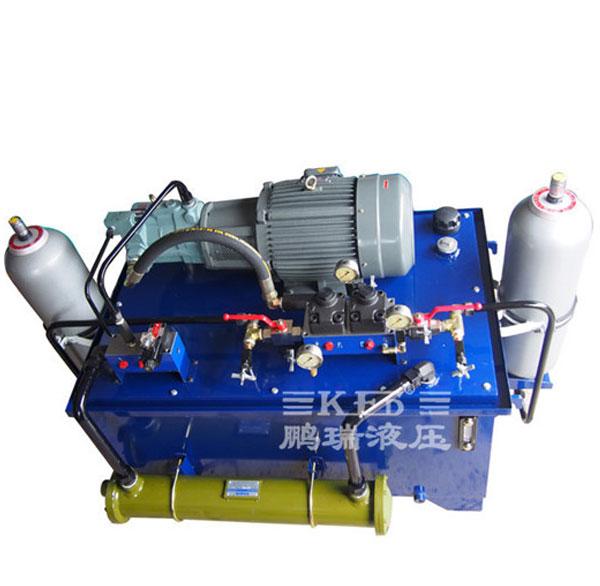 汽车单模浇铸液压系统