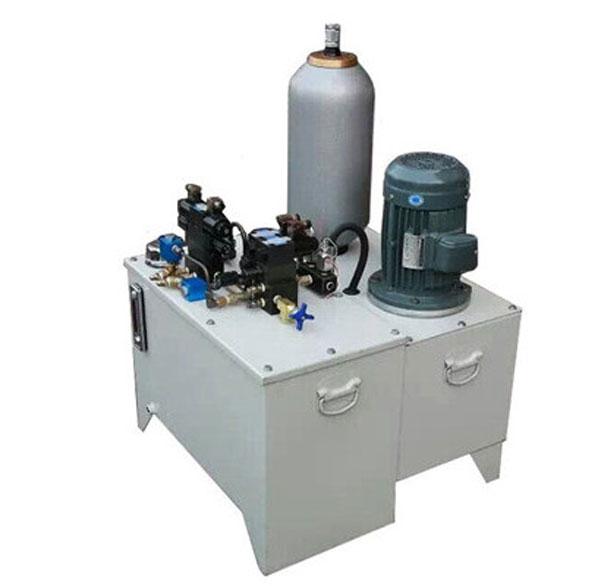 蓄能器非标液压站