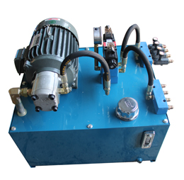 环保飞车游艺设备液压系统
